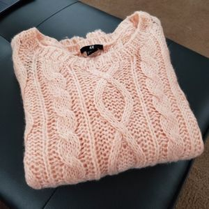 H&M Peachy Pink Knit Sweater